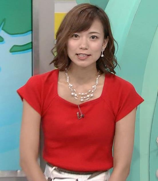 斎藤真美アナ タイトな服でエロいおっぱいキャプ・エロ画像21