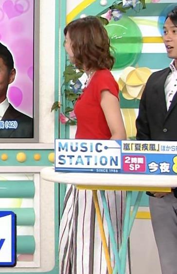 斎藤真美アナ タイトな服でエロいおっぱいキャプ・エロ画像22