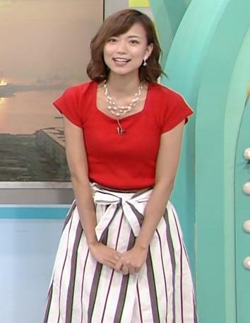 斎藤真美アナ タイトな服でエロいおっぱいキャプ・エロ画像6