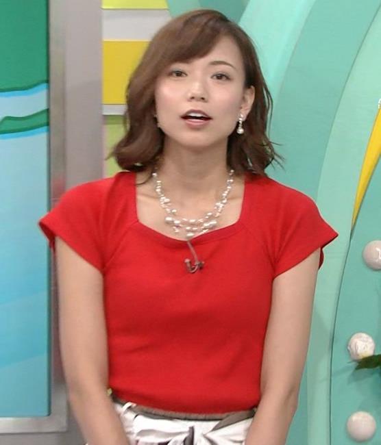 斎藤真美アナ タイトな服でエロいおっぱいキャプ・エロ画像8