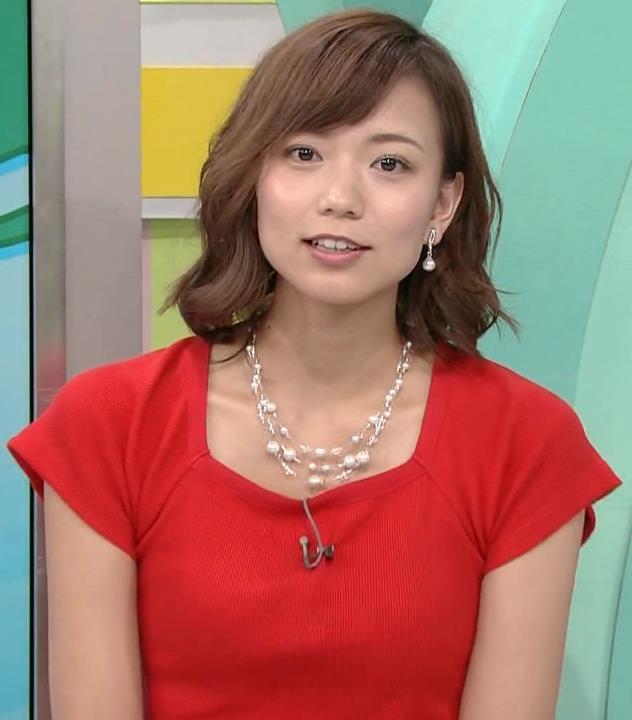 斎藤真美アナ タイトな服でエロいおっぱいキャプ・エロ画像9