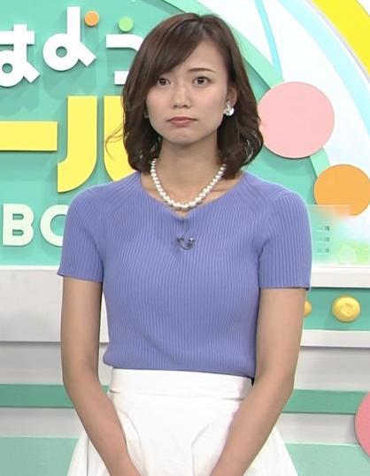 斎藤真美アナ ニット乳が大きくてエロいキャプ・エロ画像12