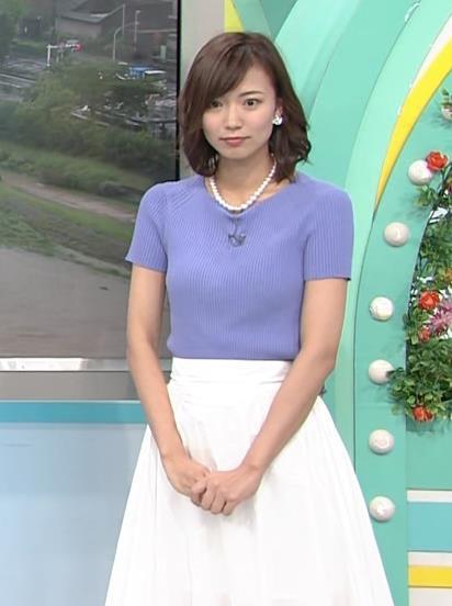 斎藤真美アナ ニット乳が大きくてエロいキャプ・エロ画像14