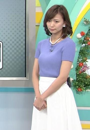 斎藤真美アナ ニット乳が大きくてエロいキャプ・エロ画像16