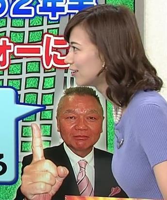 斎藤真美アナ ニット乳が大きくてエロいキャプ・エロ画像18
