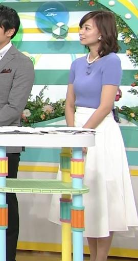 斎藤真美アナ ニット乳が大きくてエロいキャプ・エロ画像3