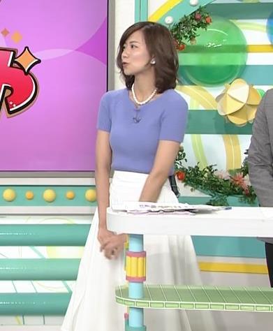 斎藤真美アナ ニット乳が大きくてエロいキャプ・エロ画像7
