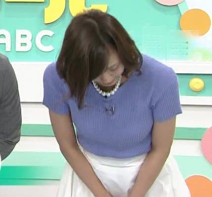 斎藤真美アナ ニット乳が大きくてエロいキャプ・エロ画像10