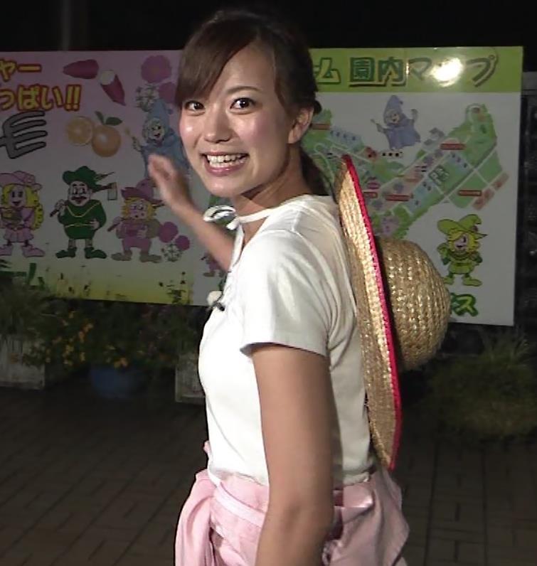 斎藤真美アナ 美人アナのTシャツおっぱいキャプ・エロ画像2