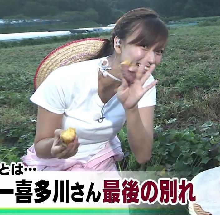 斎藤真美アナ 美人アナのTシャツおっぱいキャプ・エロ画像13