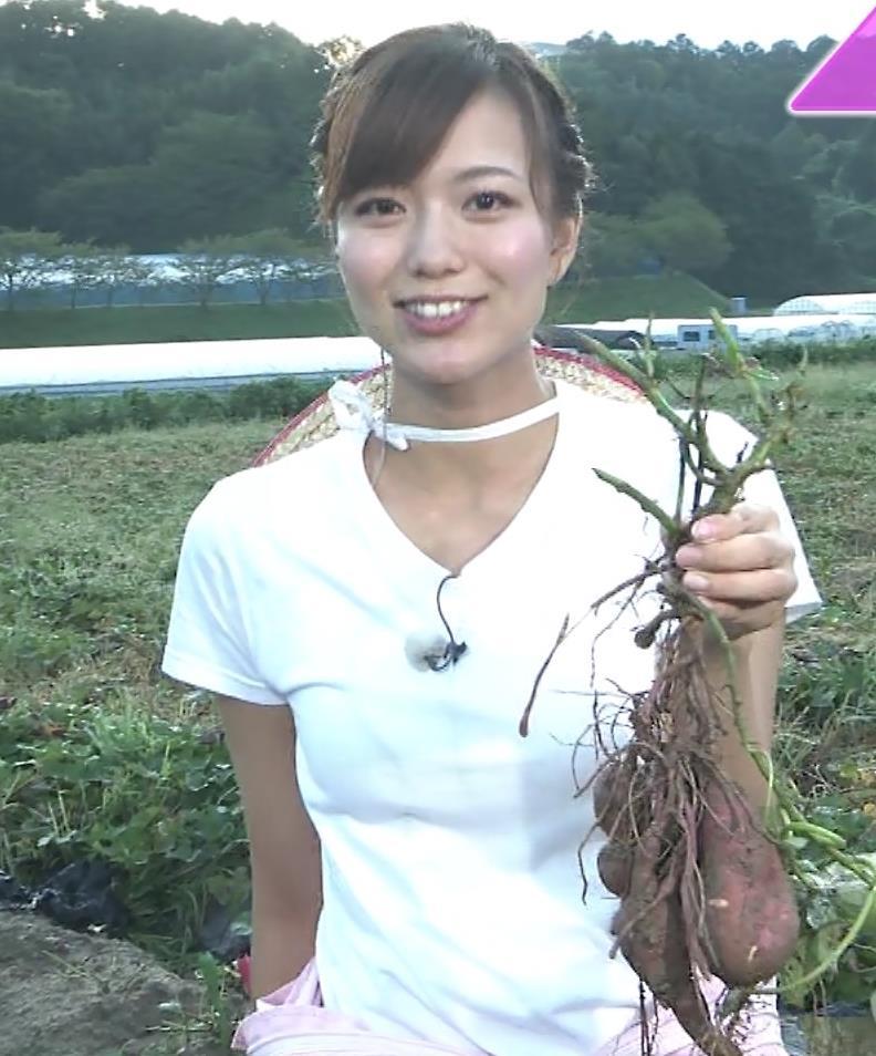 斎藤真美アナ 美人アナのTシャツおっぱいキャプ・エロ画像14