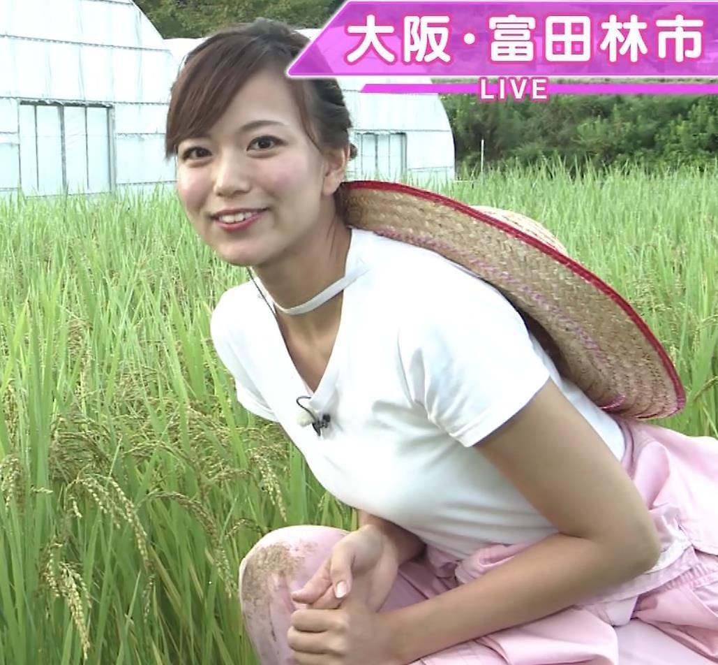 斎藤真美アナ 美人アナのTシャツおっぱいキャプ・エロ画像16