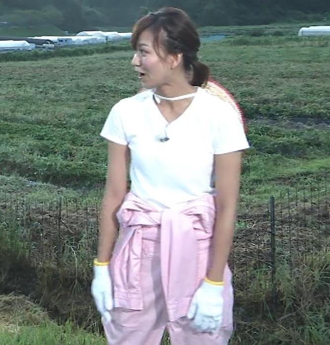 斎藤真美アナ 美人アナのTシャツおっぱいキャプ・エロ画像4