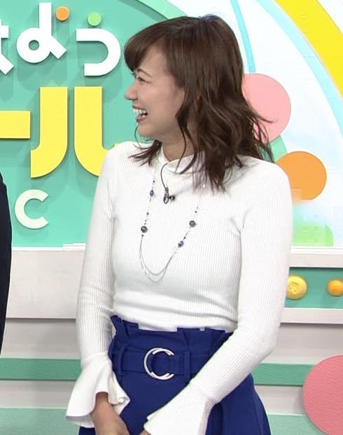 斎藤真美アナ ニット乳キャプ・エロ画像