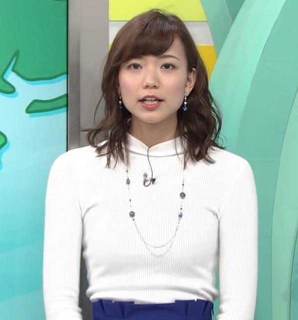 斎藤真美アナ ニット乳キャプ・エロ画像12