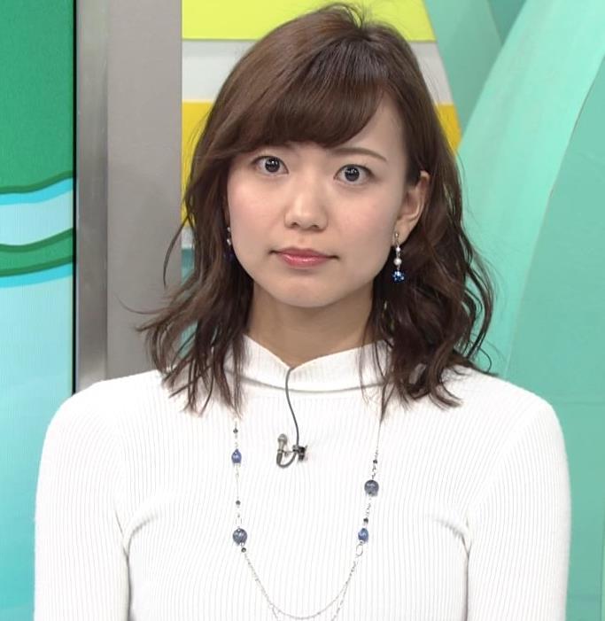 斎藤真美アナ ニット乳キャプ・エロ画像13