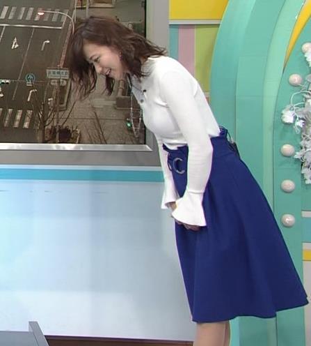 斎藤真美アナ ニット乳キャプ・エロ画像8