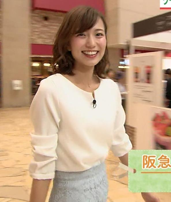 斎藤真美アナ タイトスカートのお尻がエロいキャプ・エロ画像