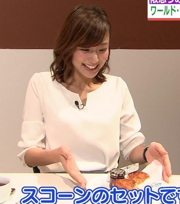 斎藤真美アナ タイトスカートのお尻がエロいキャプ・エロ画像16