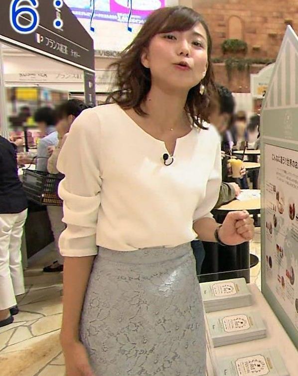 斎藤真美アナ タイトスカートのお尻がエロいキャプ・エロ画像3