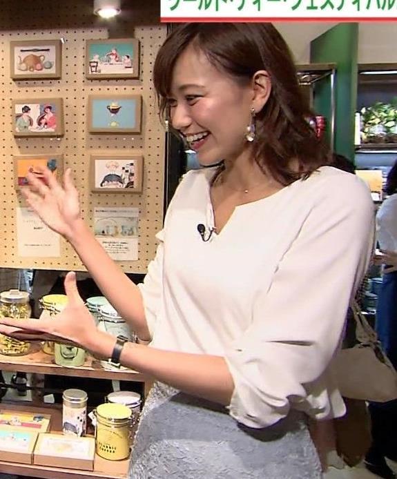斎藤真美アナ タイトスカートのお尻がエロいキャプ・エロ画像7