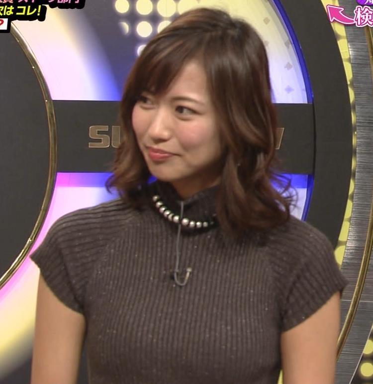 斎藤真美アナ エロかわいいピチピチのニットおっぱいキャプ・エロ画像5