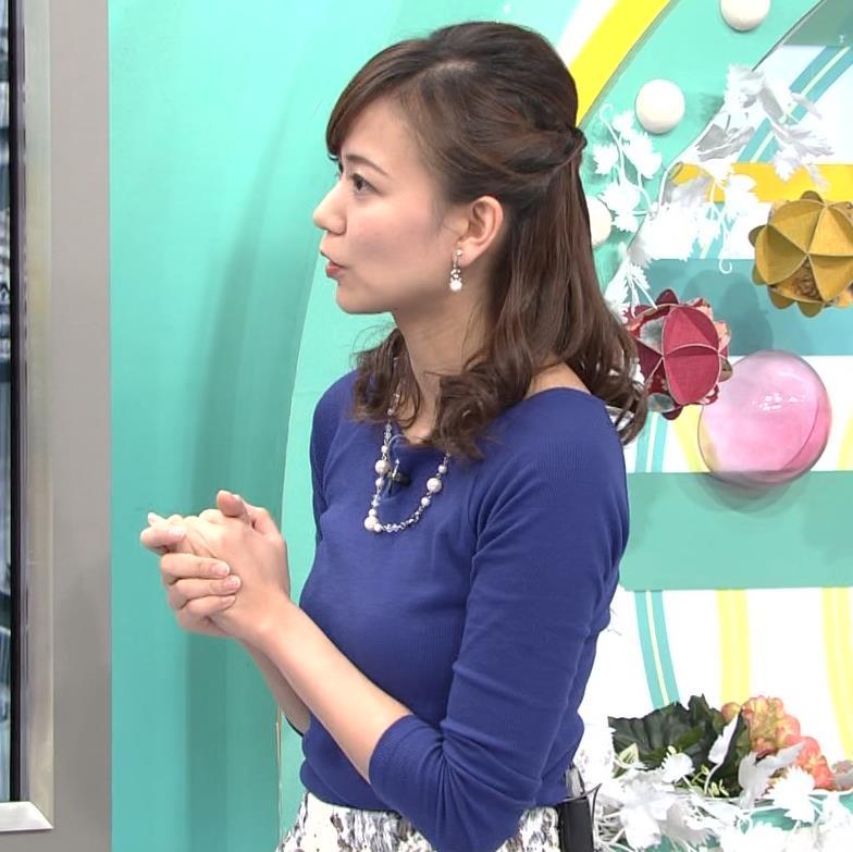 斎藤真美アナ ニットちっぱい…キャプ・エロ画像