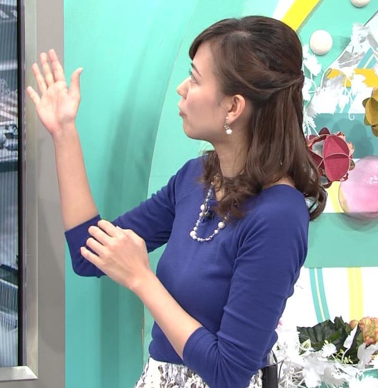 斎藤真美アナ ニットちっぱい…キャプ・エロ画像2