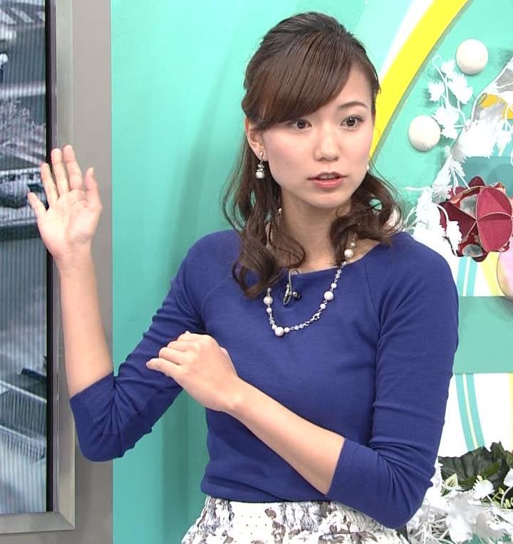斎藤真美アナ ニットちっぱい…キャプ・エロ画像3