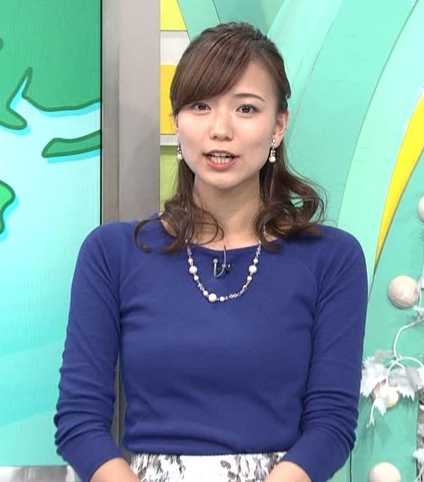 斎藤真美アナ ニットちっぱい…キャプ・エロ画像5