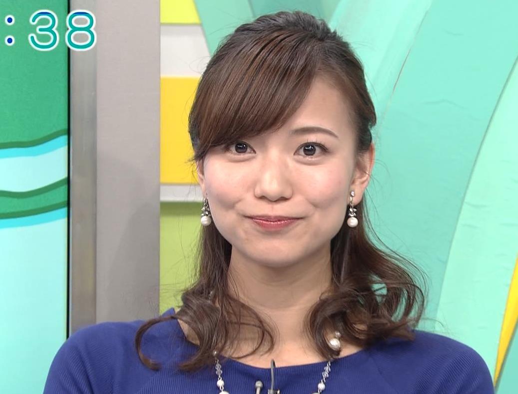 斎藤真美アナ ニットちっぱい…キャプ・エロ画像6