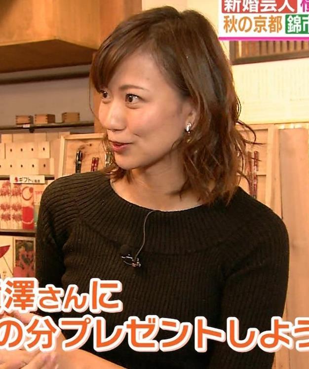 斎藤真美アナ 突き出したおっぱいがエロいニットキャプ・エロ画像8