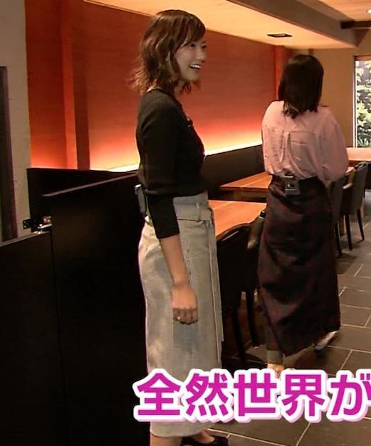 斎藤真美アナ 突き出したおっぱいがエロいニットキャプ・エロ画像9