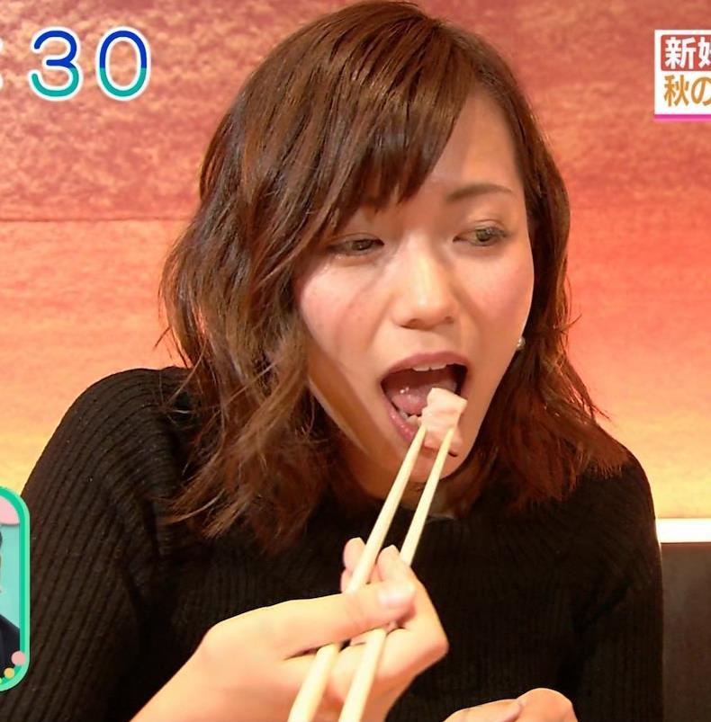 斎藤真美アナ 突き出したおっぱいがエロいニットキャプ・エロ画像10