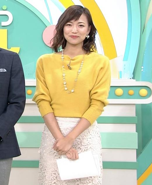 斎藤真美アナ タイトスカートのお尻がいい感じ!キャプ・エロ画像