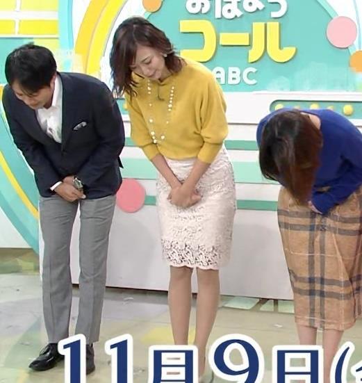 斎藤真美アナ タイトスカートのお尻がいい感じ!キャプ・エロ画像8