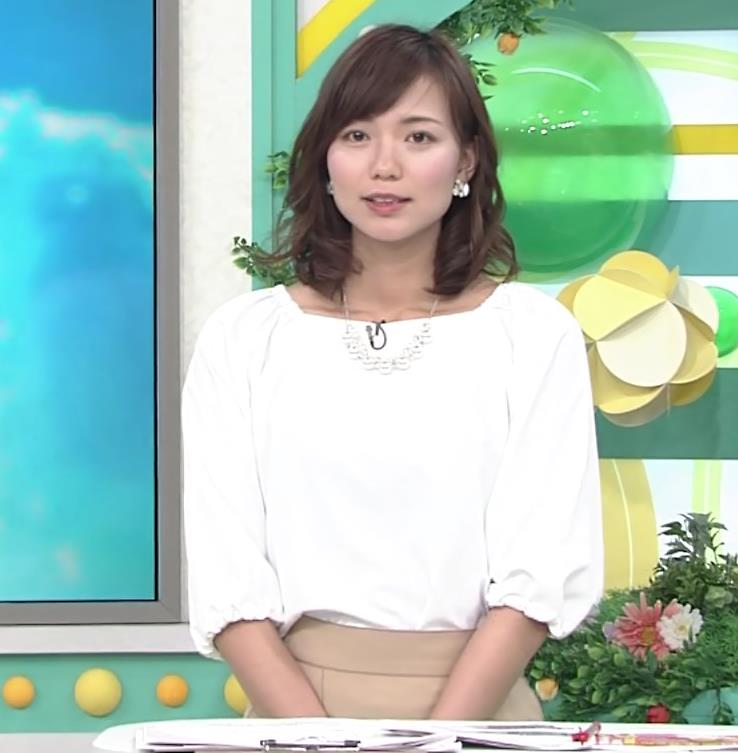 斎藤真美アナ タイトスカートのお尻♡キャプ・エロ画像5