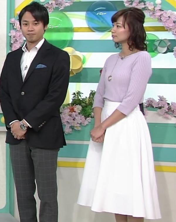 斎藤真美アナ ニット横乳がエロいキャプ・エロ画像