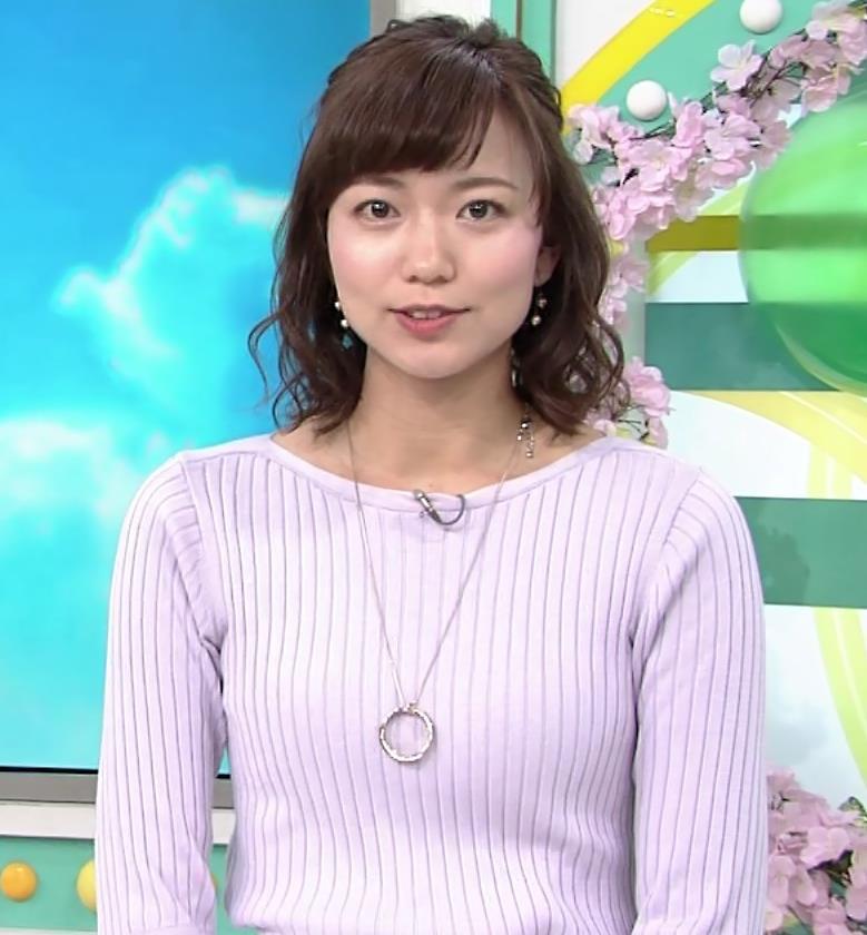 斎藤真美アナ ニット横乳がエロいキャプ・エロ画像3