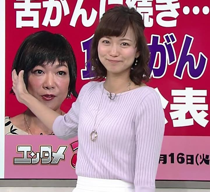 斎藤真美アナ ニット横乳がエロいキャプ・エロ画像4