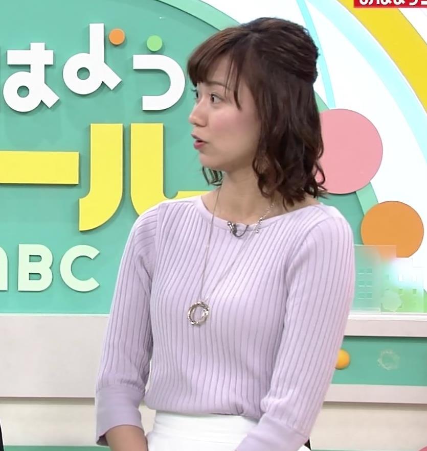 斎藤真美アナ ニット横乳がエロいキャプ・エロ画像6