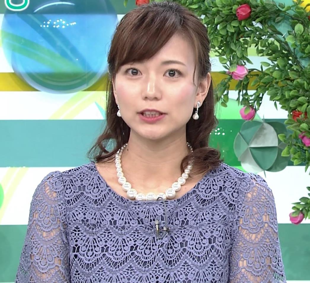 斎藤真美アナ 透け透けレース衣装キャプ・エロ画像4