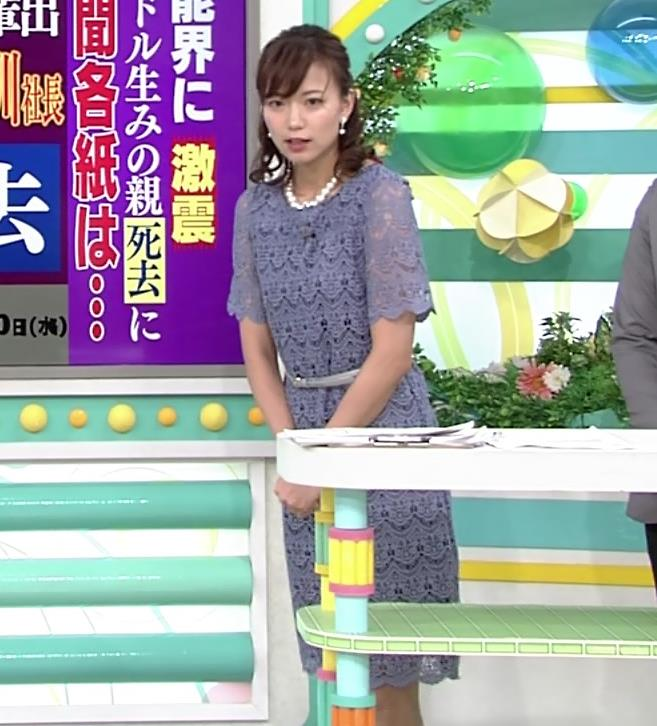 斎藤真美アナ 透け透けレース衣装キャプ・エロ画像8