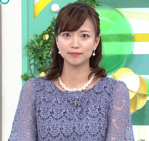 斎藤真美アナ 透け透けレース衣装キャプ画像(エロ・アイコラ画像)