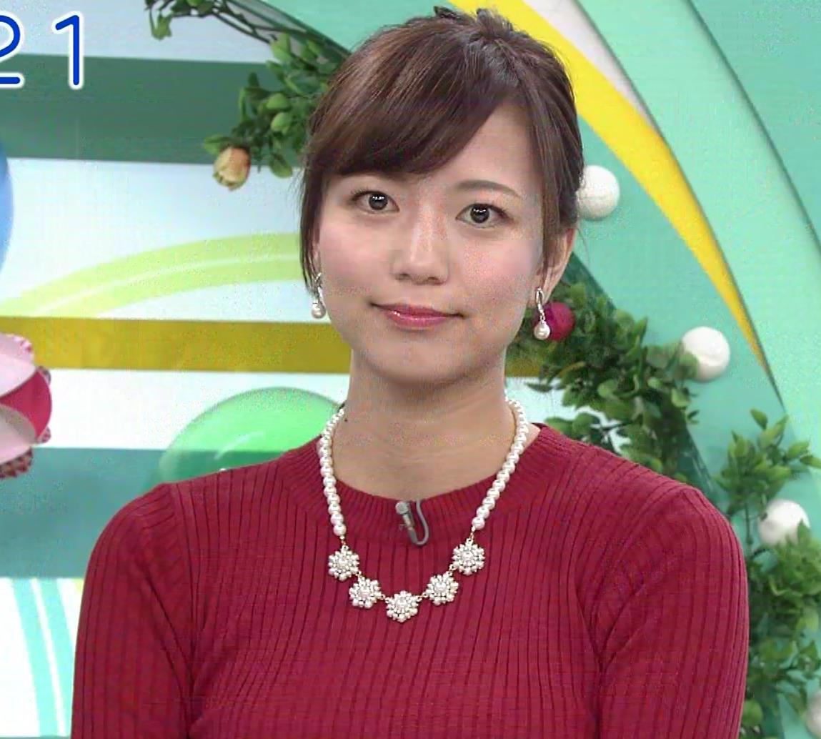斎藤真美アナ ピチピチなニットおっぱいキャプ・エロ画像6