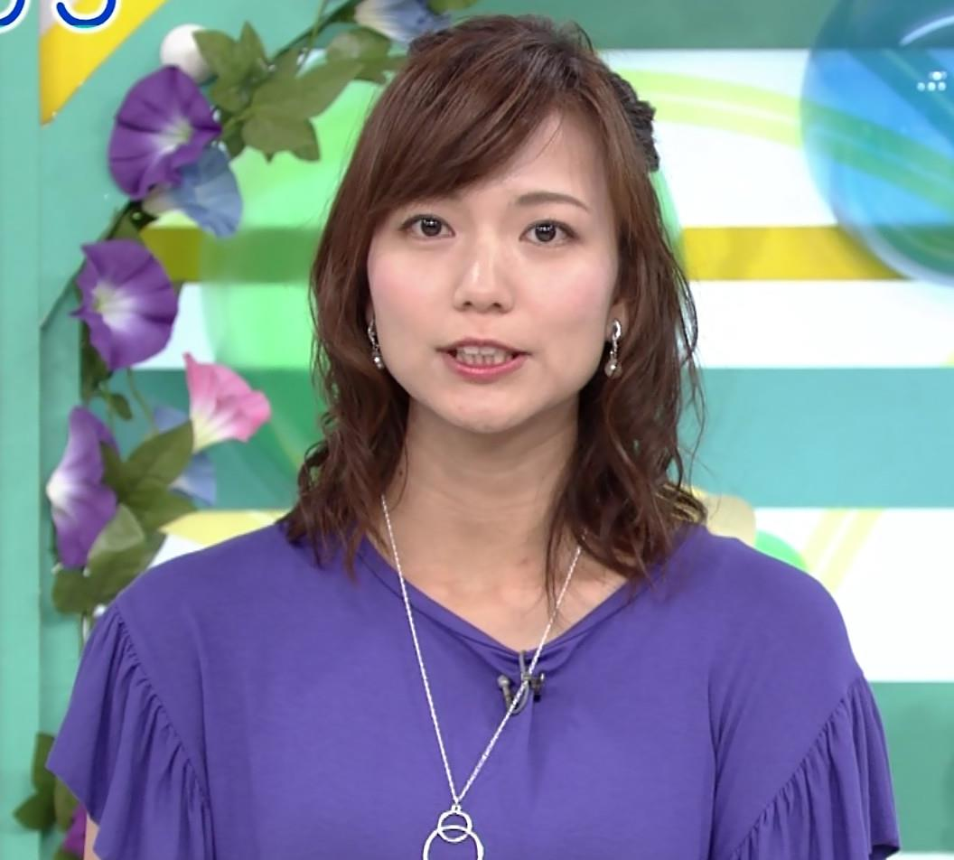 斎藤真美アナ ふんわり横乳キャプ・エロ画像6