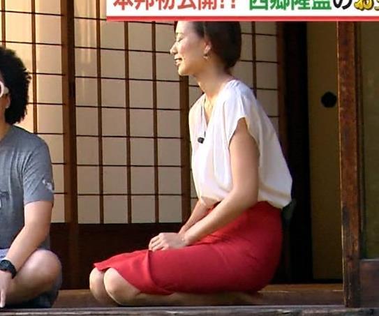 斎藤真美アナ タイトスカートでエロいお尻がクッキリキャプ・エロ画像12
