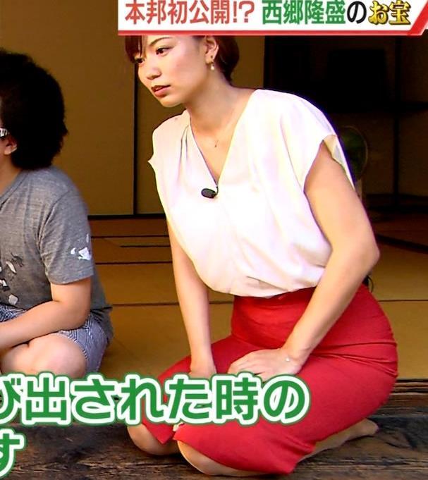 斎藤真美アナ タイトスカートでエロいお尻がクッキリキャプ・エロ画像13