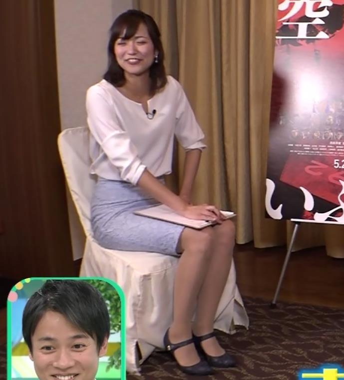 斎藤真美アナ タイトスカートで座っているのがエロいキャプ・エロ画像7