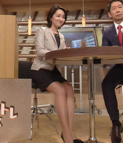 酒井美帆アナ NHKにしてはかなり攻めたエロアングルキャプ画像(エロ・アイコラ画像)